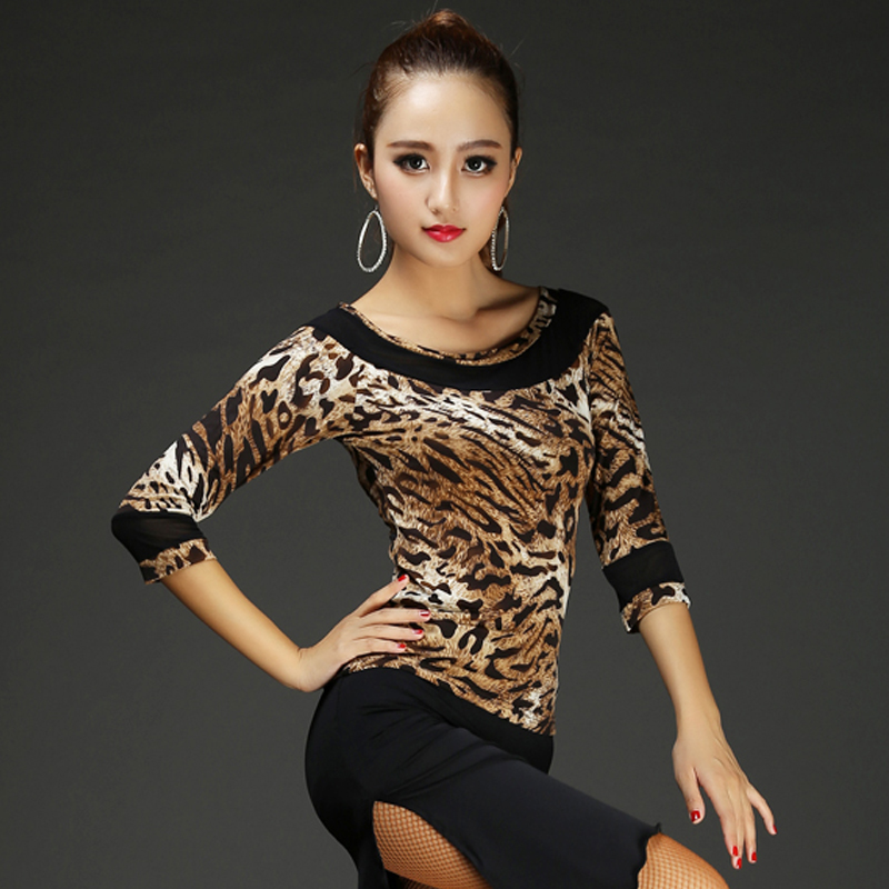 2018 Latino danza Salón danza Tops para las mujeres vestidos de baile  bailando Samba salsa tango del traje cantante wear ropa 1a2ab60092eb3
