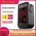 Huishouden Gezondheid Monitoren Oximeter CE Medische Hartslagmeter LED Vingertop Pulsoxymeter Vinger Bloed Zuurstof-Cool Black