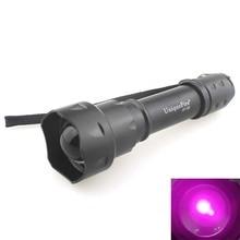 UQ TẬP T20 850nm Hồng Ngoại Màu Đỏ Phóng To Thu Nhỏ IR Đèn Pin (1x18650)