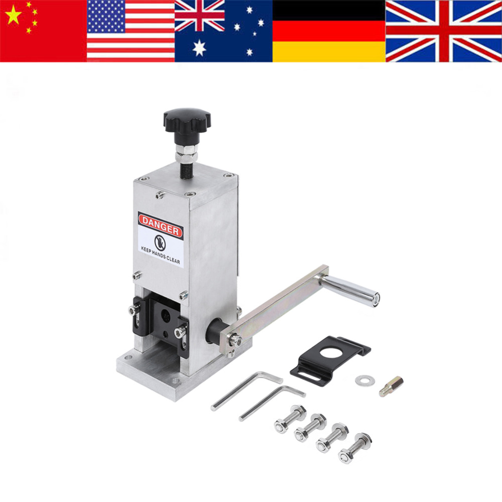 Wire Stripping Machine 1 5 25mm Scrap Wire Stripping Machine Cable Manual Stripper Metal Recycle Tool