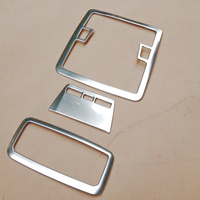For 2014 Toyota Corolla ABS Chrome Reading Lamp Light Cover Auto Styling Accessories