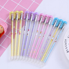 цена Erasable handle Gel Pen Erasable Pen Chancellory Stationery Blue black Vanishing Pen Student School Supplies Erasable Pen Refill онлайн в 2017 году