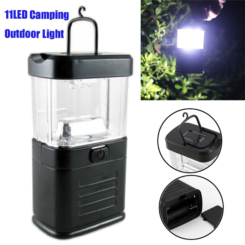 2018 New 11LED Camping Outdoor Light Bivouac Tent Lantern Fishing Hanging Lamp Hiking Safety & Survival Z1025