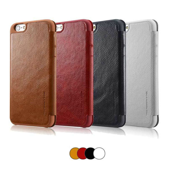 Slim Ultra Thin Leather Luxury Book Flip Wallet Hard Case with Card Holder for iPhone 6 6s Plus Brand Phone Cover Coque Capinha