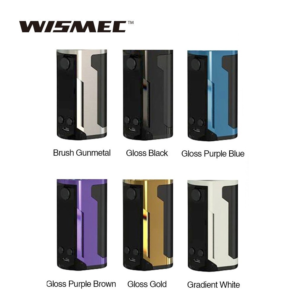 Original WISMEC Reuleaux RX GEN3 Dual Box Mod Vs Reuleaux RX300 TC Mod No 18650 Battery Vape Mod Electronic Cigarette Vs RX200S