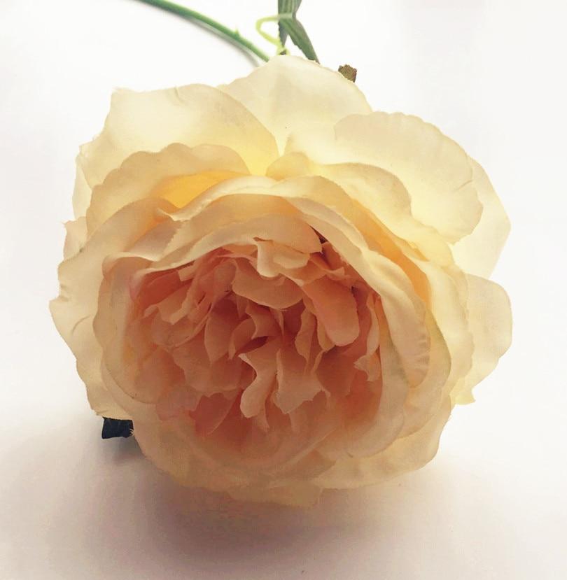 10pcs lažno oljno slikanje učinek Avstralija rose cvet mizo cvet - Prazniki in zabave - Fotografija 4