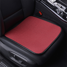 1 piece O SHI CAR Ice Silk Car Seat Cushion Very Breathable Auto Square Front Seat cover Cool Mat for seats office home chair цена 2017