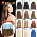 Tape in Hair Extension 16''18''20''22''24''30-50g Skin Weft Remy Human Hair PU Skin Weft Blonde Color 60# 613# Invisible On Head