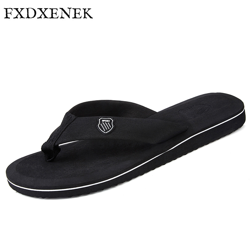 FXDXENEK 2017 New Summer Men Flip Flops Fashion High Quality Beach Sandals Non-slip Bath Slippers Men Comfort Room Slipper ak 47 tactical quad rail picatinny handguard system cnc aluminum full length tactical for ak rifles 26cm hunting gun accessories