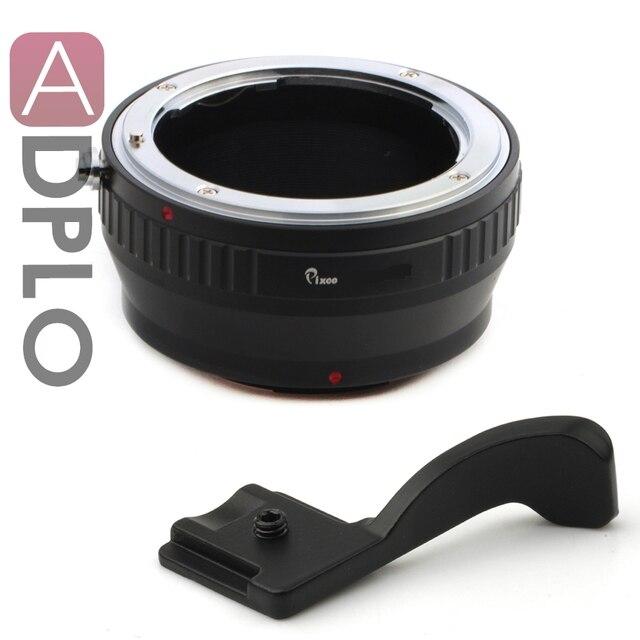 Pixco адаптер костюм для Nikon F а . ф . а . и . для FujiFilm X - Pro 1 х-e1 x-м1 фудзи FX х камера + пальца вверх сцепление ( черный )