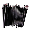 20 Unids Conjunto de Maquillaje En Polvo Fundación Sombra de Ojos Delineador de Labios Maquillaje Herramientas de Sistema de Cepillo Cosmético Pinceles de Calidad Superior VD086 P10