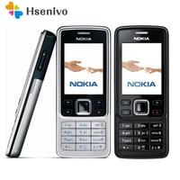 Горячая Распродажа ~ 100% Оригинальный разблокированный телефон Nokia 6300 мобильный телефон разблокирован 6300 FM MP3 Bluetooth мобильный телефон один го...