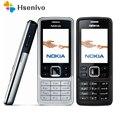 6300 Оригинальные Nokia 6300 Mobile телефон разблокировать телефон 6300 русская Арабская английская клавиатура Восстановленное Бесплатная доставка