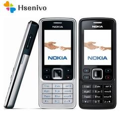6300 Original Nokia 6300 Mobile Phone Unlocked 6300 cellphone & Russian Arabic English Keyboard refurbished Free shipping