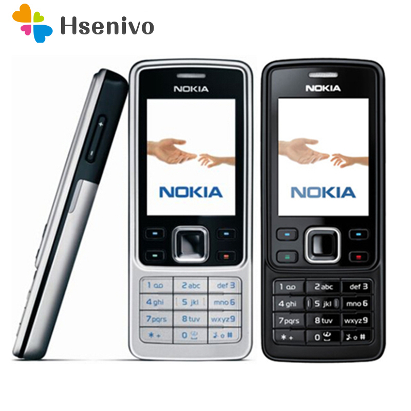 6300 Originele Nokia 6300 Mobiele Telefoon Unlocked 6300 mobiele telefoon & Russisch Arabisch Engels Toetsenbord refurbished Gratis verzending
