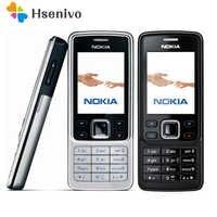 Offre spéciale ~ 100% Original débloqué Nokia 6300 téléphone Mobile débloqué 6300 FM MP3 Bluetooth téléphone portable un an de garantie livraison gratuite
