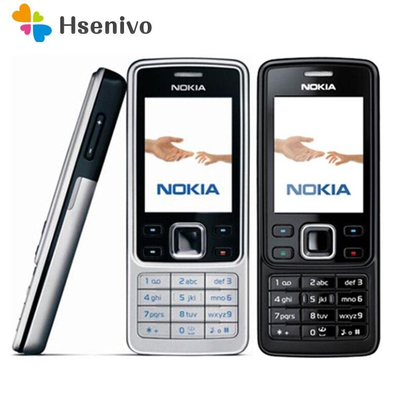 Venta caliente ~ 100% Original desbloqueado Nokia 6300 teléfono móvil desbloqueado 6300 FM MP3 teléfono móvil Bluetooth, un año de garantía envío gratis