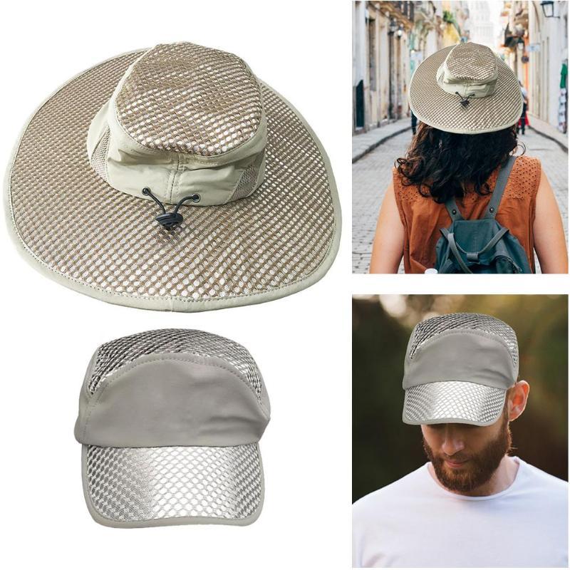 Sunscreen Cap Sun Hat Summer Cooling Cap Air Conditioning Cap for Men /& Women New 2019