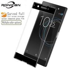 עבור Sony Xperia XA1 3D מעוקל מלא כיסוי מזג זכוכית עבור Sony XA1 G3112 G3116 Dual Sim מסך מגן מגן סרט