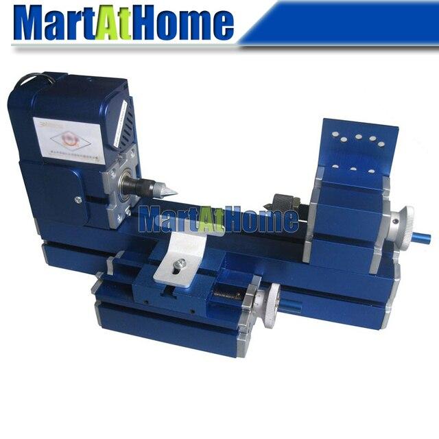 Argedo 12w Diy Mini Metal Wood Turning Lathe Machine Model Tool