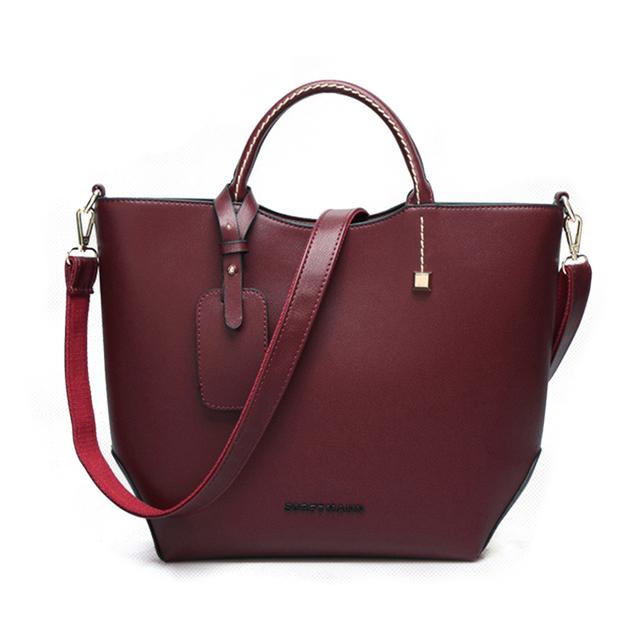 Design da marca sacos de ombro bolsa de alça superior causal tote para as mulheres lady feminino Cáqui borgonha preto Minimalista bolsa feminina