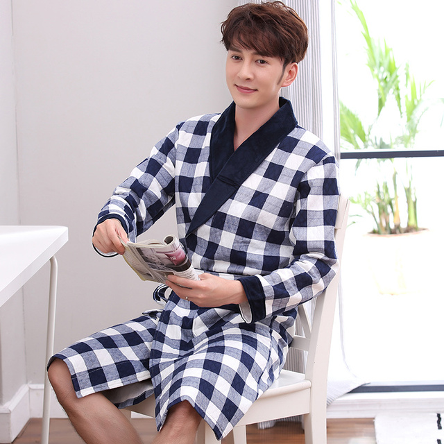 2018 summer robe with hooded male dressing gown jedi empire men\'s ...