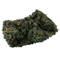 4X5M Large Size Outdoor Hunting Military Camouflage Jungle Leaves Net Woodland Army Camo Netting Camping Shade Cover|  -