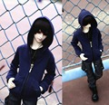 Hot sale ! BJD Doll Clothes 1/6 YOSD DD  Doll & Accessories dark blue coat