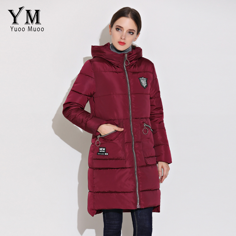c3431ed1db1f YuooMuoo New 2018 High Quality Winter Coat Women Casual Warm Hooded ...