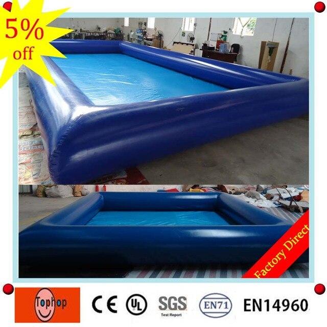 6*6m 0.7mm Pvc Tarpaulin Manufacturing Pool Intex Indoor German Rectangular  Above Ground Inflatable