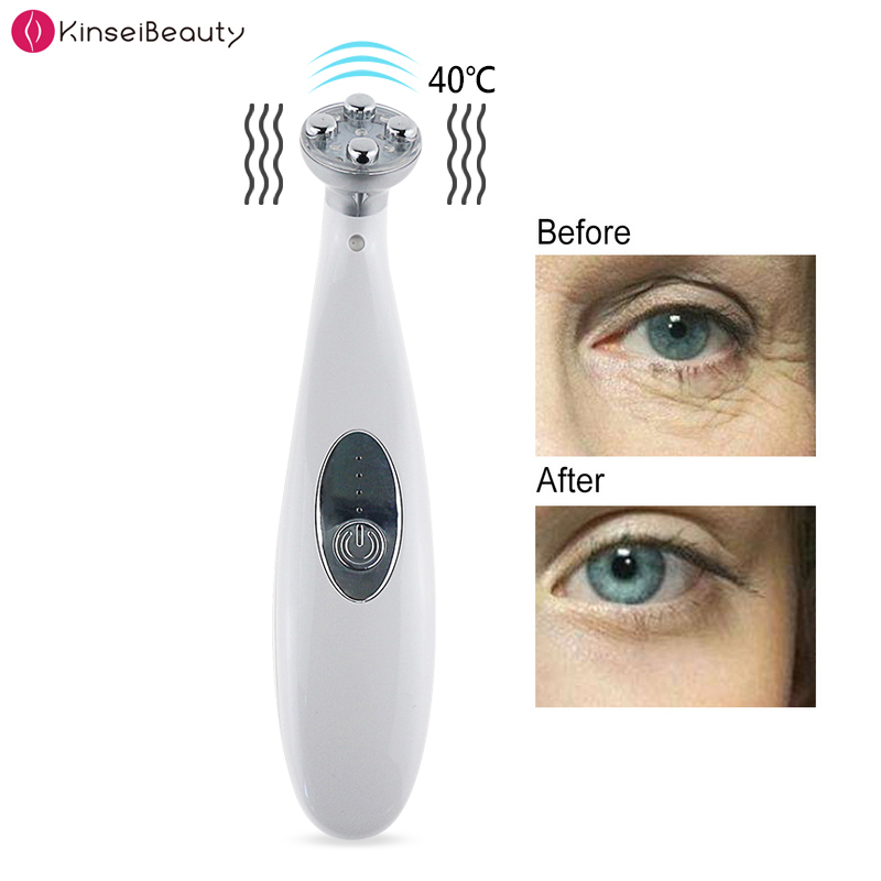 EMS Electroporation LED Photon Light Therapy Beauty Device Anti Aging Face Lifting Wrinkle Removal Eye Facial Care Tools