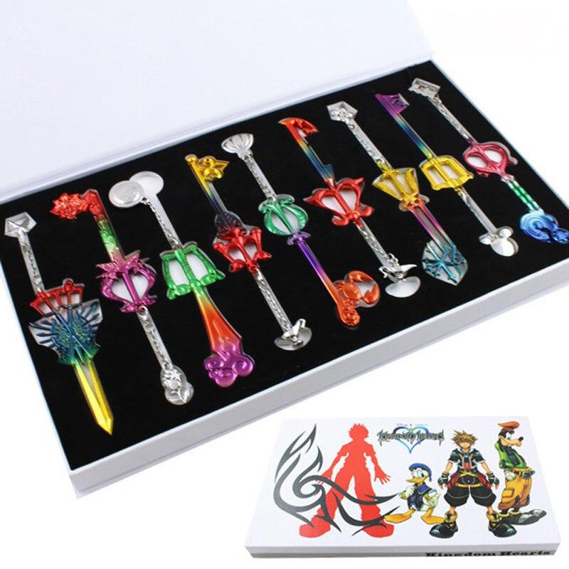 Aliexpress Buy 9pcs Set Kingdom Hearts Ii Key Blade