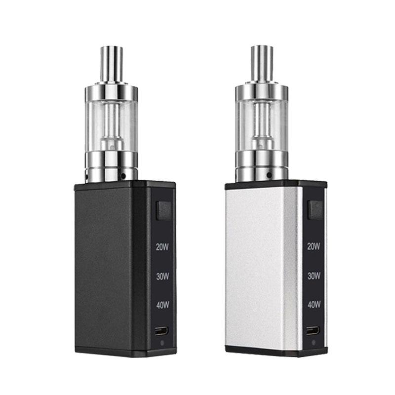100% Оригинальные IBOX-40 стартовый набор электронная сигарета комплект портативный IBOX 40 2 мл