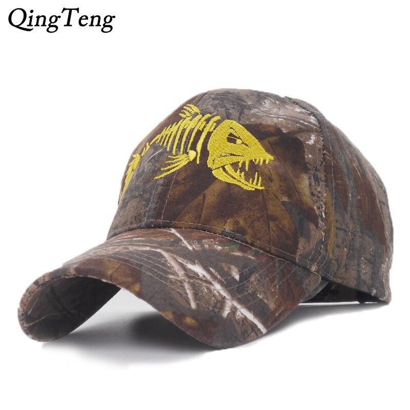 New Camouflage Fishing Cap 2
