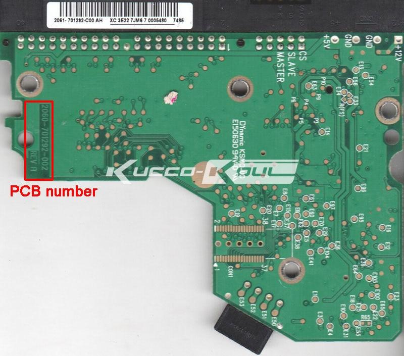 WD HDD PCB Logic Board 2060 701292 002 REV A For 3 5 IDE PATA Hard