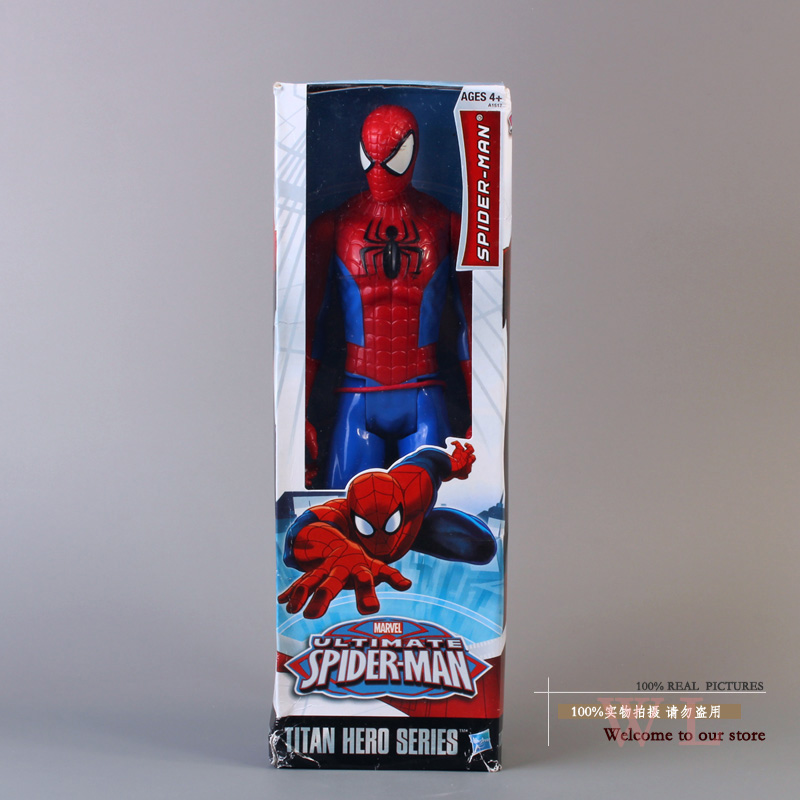 Marvel The Amazing Spider-Man Spiderman PVC Action Figure Toys 12inch 30cm цена