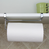 Kitchen Portable Paper Towel Rack Paper Towel Roll Holder Cabinet Hanging Shelf Organizer Bathroom Kitchen Accessories