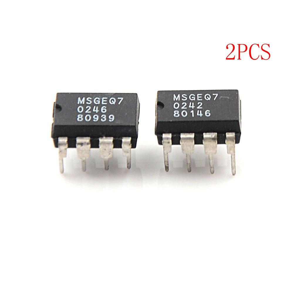 10PCS MSGEQ7 Band Graphic Equalizer IC MIXED DIP-8 MSGEQ7 Best