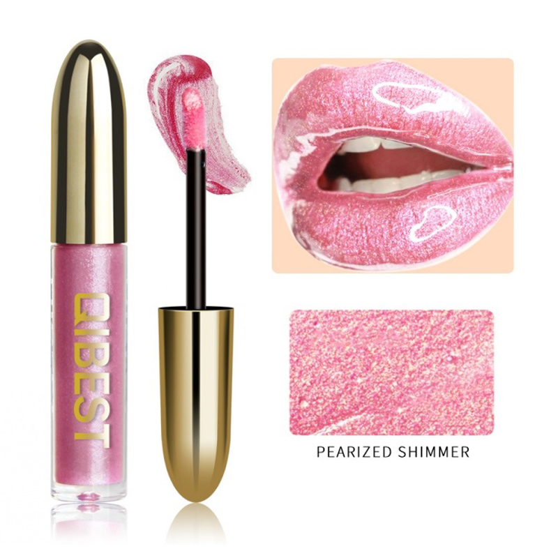 Summer Hot 19 Colors Magic Lip Gloss Makeup Metallic Lipstick Glitter Lip Red Purple Blue Gold Long Lasting Make Up Waterproof in Lip Gloss from Beauty Health