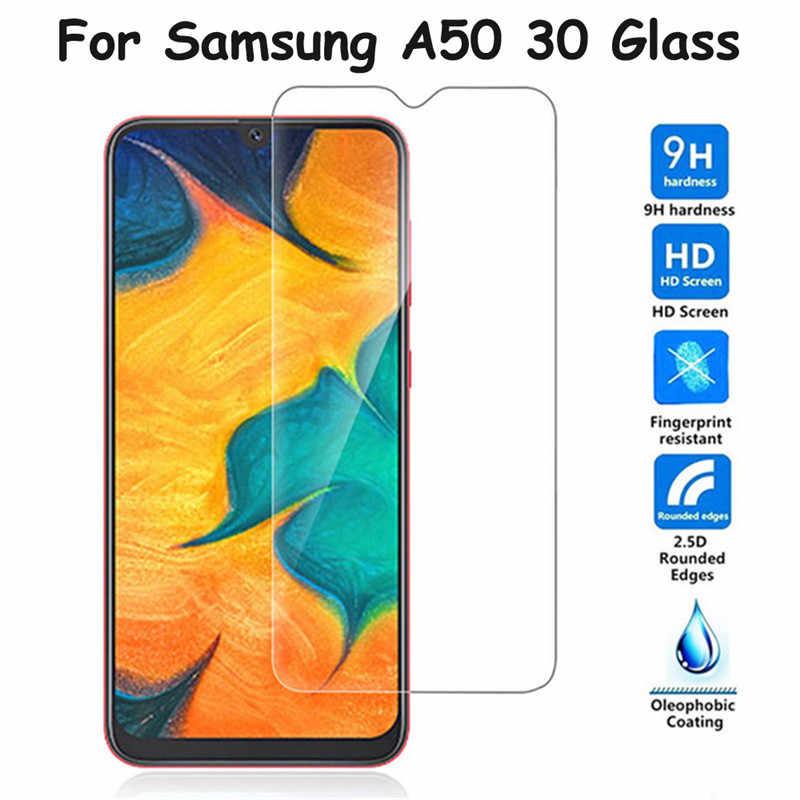 زجاج واقي لسامسونج غالاكسي A50 A30 A40 A20 A70 A6 A8 زائد A7 2018 الزجاج المقسى لسامسونج A50 A30 واقي للشاشة