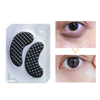 10piece =5pair Black Eye Mask Collagen Eye Patch Patches for the Eyes Black Mask Face Treatment Anti Dark Circles Sheet Mask Facial Care