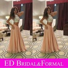 Königin der Bühne Myriam Fares Kleider Rami Kadi Wulstige Formale Promi Abendkleid Sparkly Zweiteiler Prom Kleid Luxus