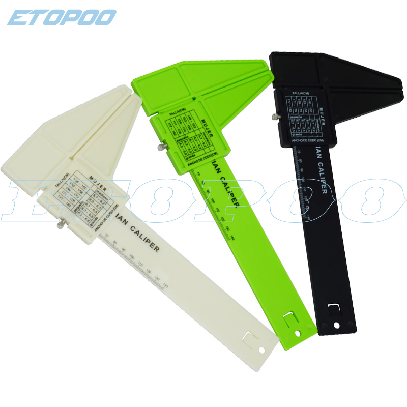 Medical Plastic Caliper Vitruvian Caliper Medical Ruler For Elbow Body Skinfold Caliper Medical Tool Goods Of Every Description Are Available Measuring & Gauging Tools