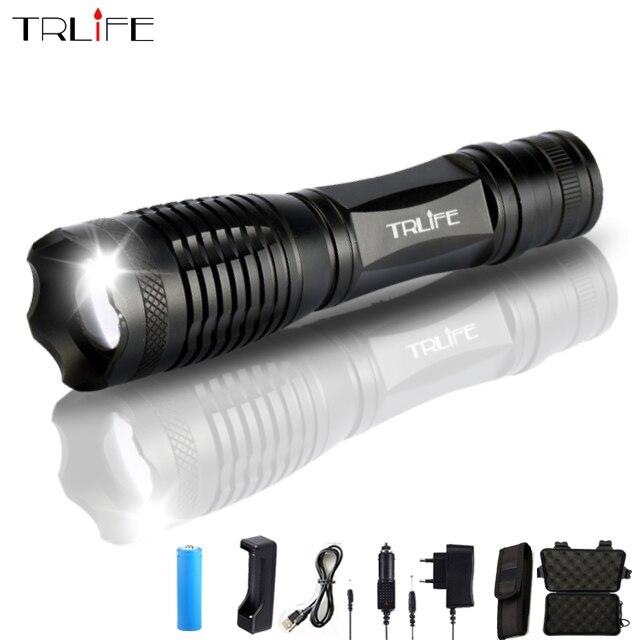 Ultra Lumineux V6/L2/T6 10000LM LED Torche lampe de Poche Zoomable LED Flash Lumière Lanternas Pour 3 3xaaa ou 1x18650 Batterie Livraison Gratuite