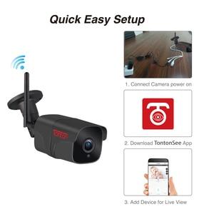 Image 3 - Tonton wifi macchina fotografica del IP esterna A Due Vie Audio 1080P 720P impermeabile senza fili di sicurezza del metallo della macchina fotografica record di carta di TF p2P Sony Sensore