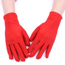 Short Sunscreen  Womens Gloves Sexy Thin Summer Driving Guantes Conducir Decuero Mujer
