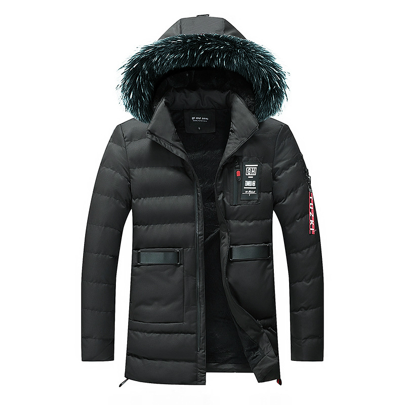 New Fashion 2018 Men's Winter Jacket -30 Degree Snow Outwear Men Warmth Thermal Hooded Snow Coats Male Solid Down Coats M-3xl