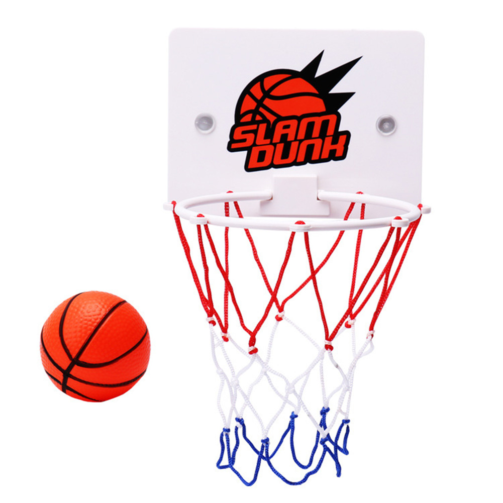 HOT Children Kids Mini Basketball Hoop Toys Suck Wall-Mounted Stand With Pump Sport Toy Set HV99