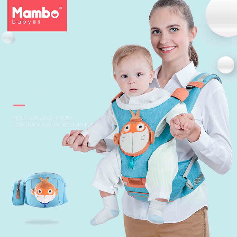 Monkey King Hero Is Back multi-functional waist stool 0-30 Months Breathable Baby Carrier Comfortable Sling Backpack Pouch Wrap multi function comfortable baby carrier sling red grey