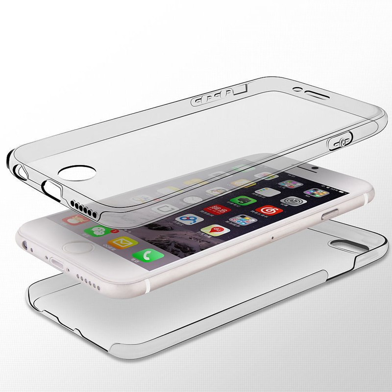 iphone 7 360 case transparent